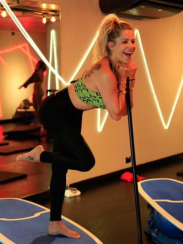 Karina Bacchi em ação