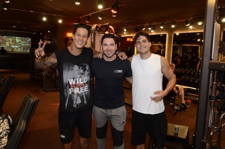 Brothers: Rodrigo Lima, Sangion e André Martinelli