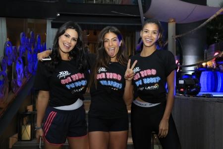Natália Guimarães, Rachel Apollonio e Jakelyne Oliveira