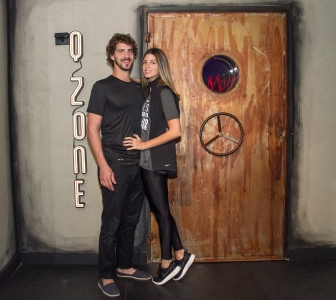 Antonio Mendes e Anna Fasano